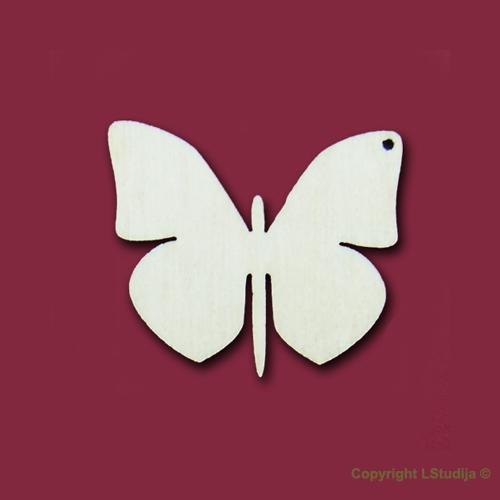 Формы серёжек бабочка