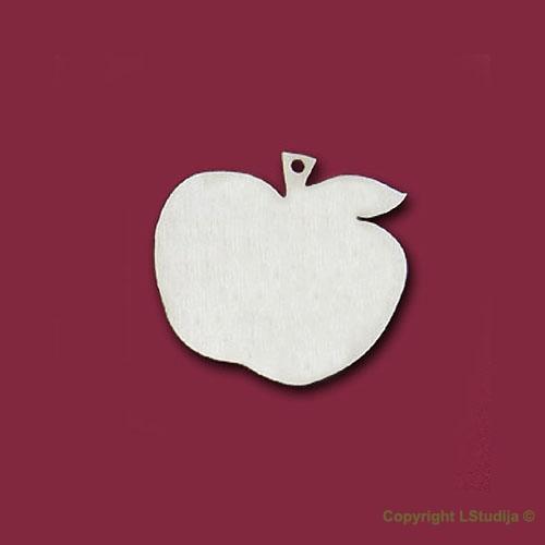 Формы серёжек яблочки