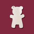 Формы серёжек медвежонок