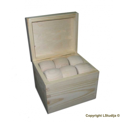Rings for napkin in a box