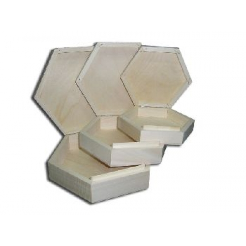 Casket hexagonal (medium)