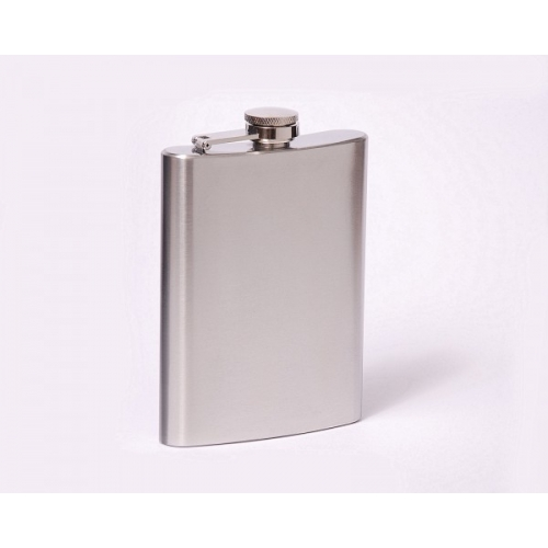 Classic 8oz flask with engraving