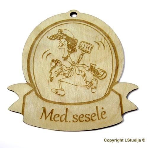 """Medinis medalis """"Med. Seselė"""""""