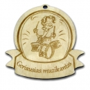 """Medinis medalis """"Geriausias muzikantas"""""""
