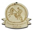 """Medinis medalis """"Triukšmingiausias svečias"""""""