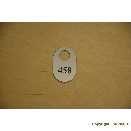 Rubinės numeriuko Forma 5