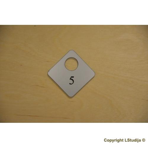Rubinės numeriuko Forma 9
