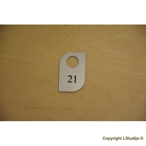 Rubinės numeriuko Forma 4