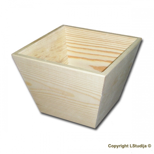 Square flower pot small