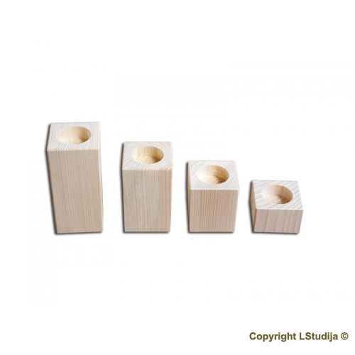 Candlesticks 4 pcs