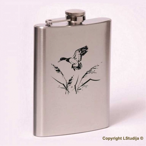 Classic 8oz flask  Duck