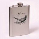 Classic 8oz flask pheasant
