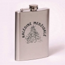 Classic 8oz flask Christmas hunt