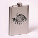 Classic 8oz flask Carp
