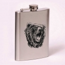 Classic 8oz flask bear
