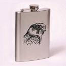 Classic 8oz flask  falcon