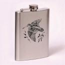 Classic 8oz flask  woodcock