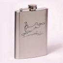 Classic 8oz flask  rabbit