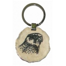 Key ring falcon