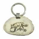Key ring fox