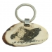 Key pendant black grouse