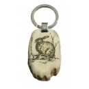 Key ring hare