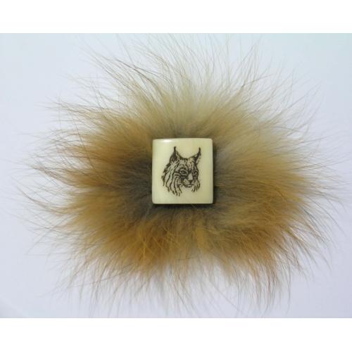 Brooch lynx