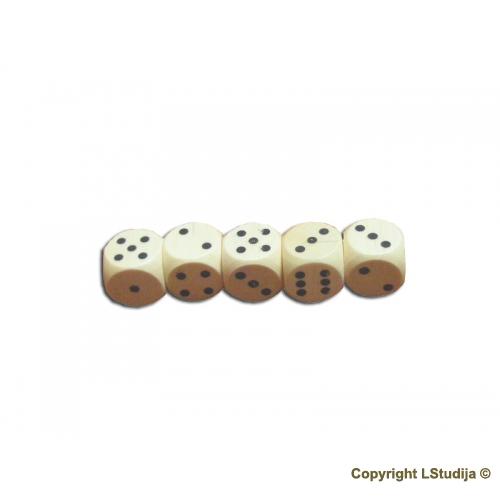 Set of five dice
