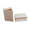 Knygos formos medinė dėžutė