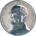 sidabruotas medalis